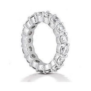 4 carat diamond gold wedding band ring Beautiful